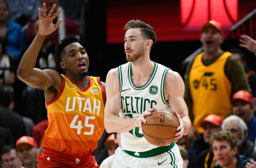 Boston Celtics An Off Season Gordon Hayward Trade Back To Utah