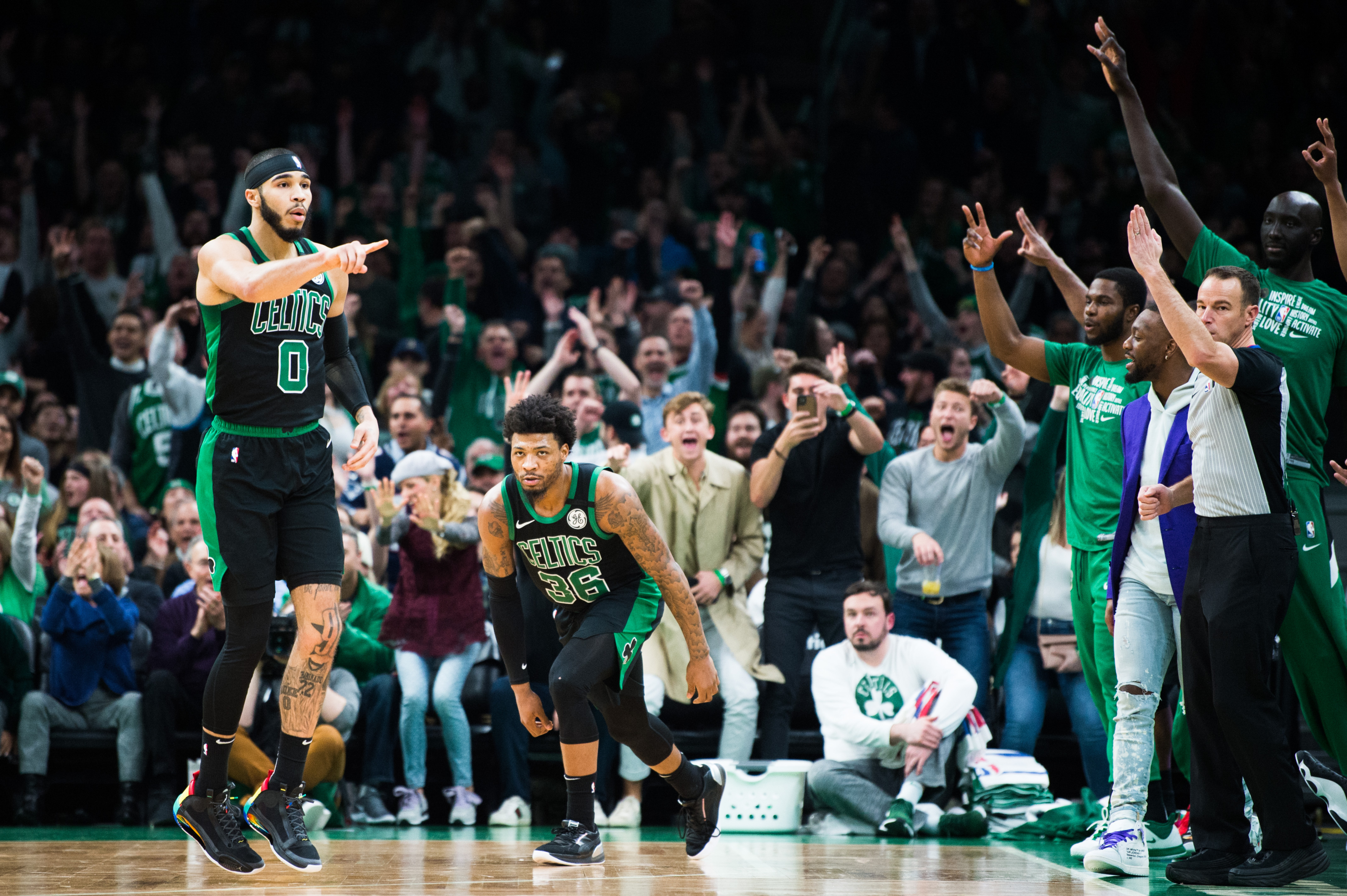 Why the Boston Celtics should be considered the clear second best team in the east