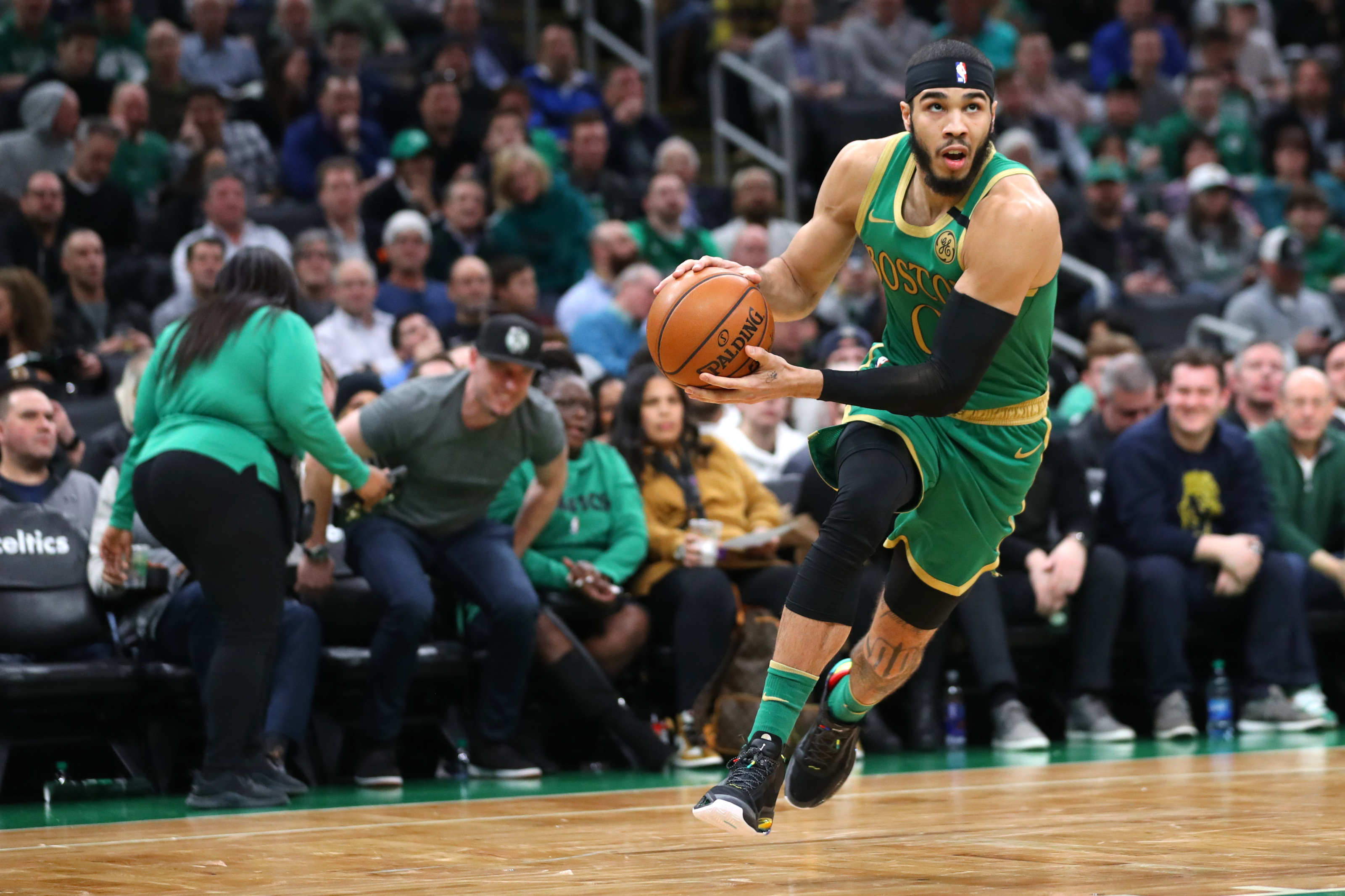 Boston Celtics: Jayson Tatum is not a superstar just yet... but he will be